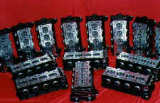 Cylinder heads, modified during development testing