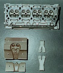 The K Series Vulcan Cylinder Head, Prototype Flowbox And Port Moulds.